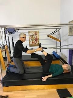 Court Pilates for seniors